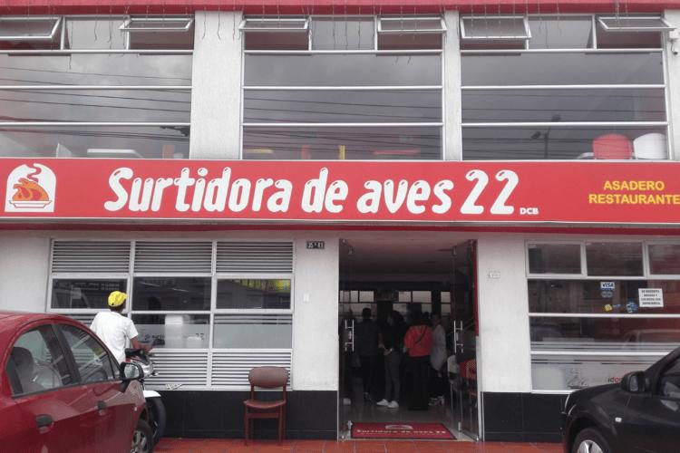 asaderos de pollo, restaurantes, la brasa roja, surtiaves, surtidora de la 22, cali mio,